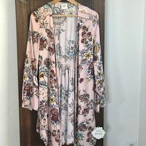 Floral Duster/Cardigan